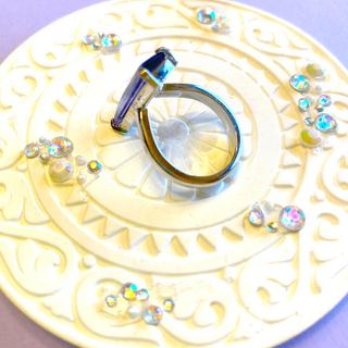 紫石のリング サイズ15(リング(指輪))
