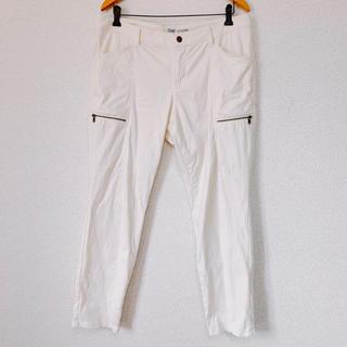 ギャップ(GAP)のギャップ カーゴパンツ カジュアルパンツ オフホワイト パンツ 大きいサイズ(ワークパンツ/カーゴパンツ)