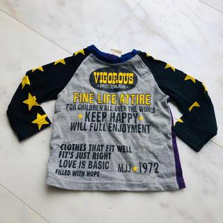ムージョンジョン(mou jon jon)のムージョンジョン 男の子 プリント ロンT Tシャツ 80(Tシャツ)