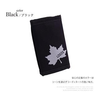 ロゴス(LOGOS)のロゴス LOGOS ミニウォレット  【ブラック】三つ折り財布 コインパース (折り財布)