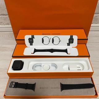 エルメス(Hermes)の新品 スペースブラック 40mmApple Watch series5(腕時計(デジタル))