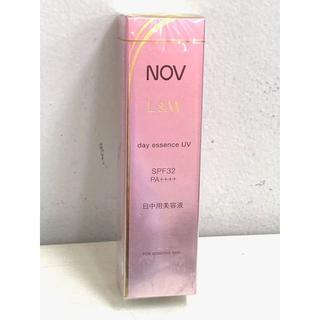 ノブ(NOV)のNOV ノブ L&W デイエッセンス UV 日中用美容液(化粧下地)