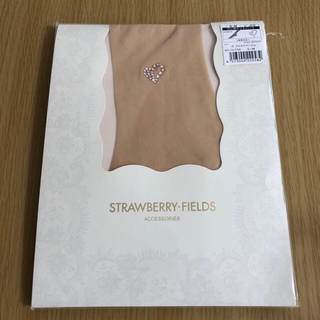 ストロベリーフィールズ(STRAWBERRY-FIELDS)の《新品未使用》ストッキング(タイツ/ストッキング)