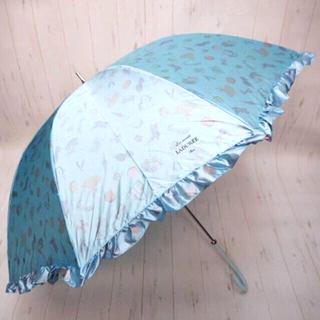 LADUREE - LADUREE ラデュレ 長傘 雨傘☆フリル サックス
