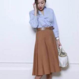 ジャスグリッティー(JUSGLITTY)の新品☆ジャスグリッティー フレアスカート シャツ上下セットアップ☆(セット/コーデ)