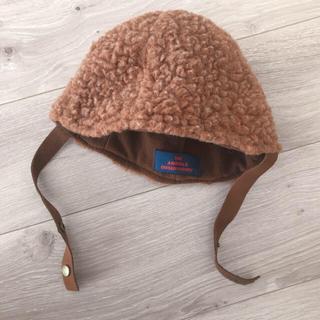 ボボチョース(bobo chose)のtao/アニマルファーキャップ(帽子)