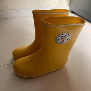 ファミリア(familiar)のファミリア レインブーツ 17cm (長靴/レインシューズ)