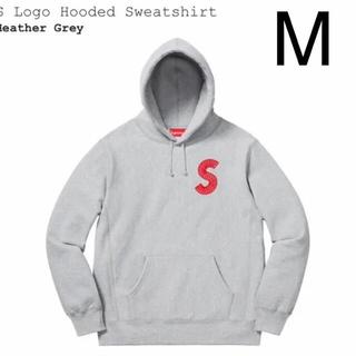 シュプリーム(Supreme)の本日限定価格 Supreme S logo Hooded パーカー グレー M(パーカー)