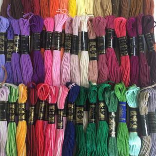 オリンパス(OLYMPUS)のDMC、オリンパス混合刺繍糸50色50本 7(生地/糸)