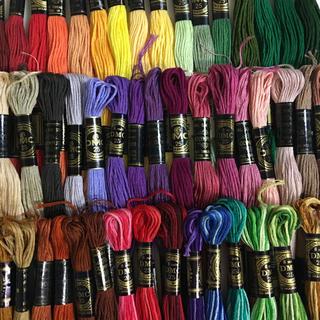 オリンパス(OLYMPUS)のDMC、オリンパス混合刺繍糸50色50本 6(生地/糸)