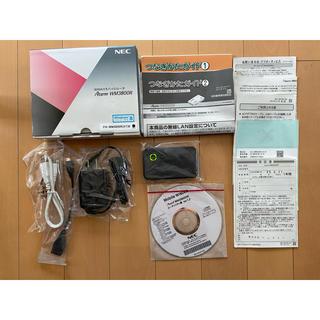 エヌイーシー(NEC)のNEC WiMAX UQ モバイルルータ Aterm WM3800R(PC周辺機器)