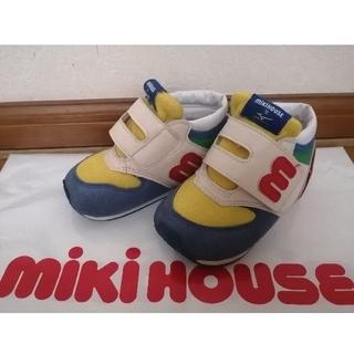 ミズノ(MIZUNO)の商談中♡ミキハウス×mizuno コラボ スニーカー  14cm(スニーカー)
