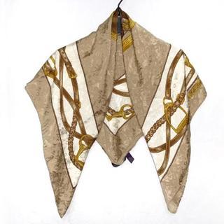 ラルフローレン(Ralph Lauren)のラルフローレン スカーフ美品  - 馬(バンダナ/スカーフ)
