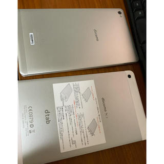 NTTdocomo - dtab d-01g  d-02h タブレット 2機セット 中古