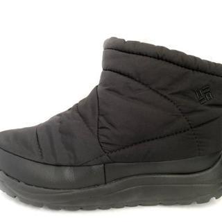 コロンビア(Columbia)のコロンビア ショートブーツ 24.0 黒(ブーツ)
