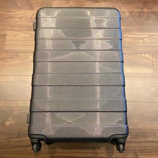 ムジルシリョウヒン(MUJI (無印良品))の無印良品 ハードキャリーケース 88L 黒色(スーツケース/キャリーバッグ)