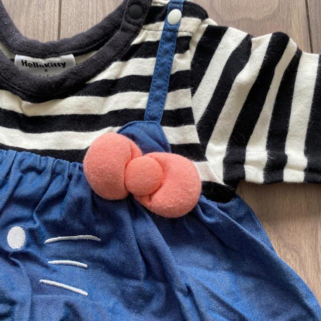 futafuta(フタフタ)のhellokitty futafuta コラボワンピース キッズ/ベビー/マタニティのベビー服(~85cm)(ワンピース)の商品写真