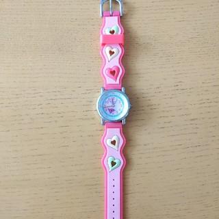 ウィルセレクション(WILLSELECTION)の腕時計 キッズ ハート WILLS ピンク(腕時計)