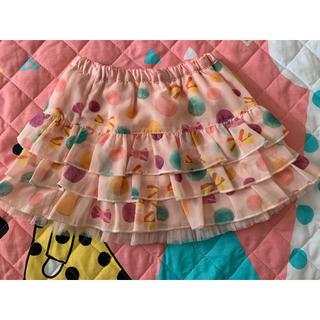 ニットプランナー(KP)のKPニットプランナー リバーシブルスカート☆匿名配送無料(スカート)