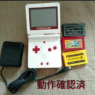 ゲームボーイアドバンス(ゲームボーイアドバンス)のゲームボーイ アドバンス 本体 ソフト ファミコン カラー AGS-001(携帯用ゲーム機本体)