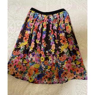 トッカ(TOCCA)の最終お値下げ♡TOCCA トッカ 洗える エレガントなお花柄スカート(ひざ丈スカート)