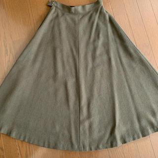 クロエ(Chloe)のmiss chloe 茶色 ロングスカート M (ロングスカート)