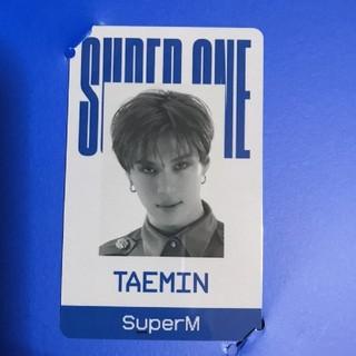 シャイニー(SHINee)のsuperm 「super one」IDカード テミン(K-POP/アジア)