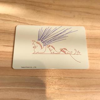 エポス(EPOS)の☆非売品☆新品未使用 シン・ゴジラ カード イラスト 東宝 特撮(ノベルティグッズ)