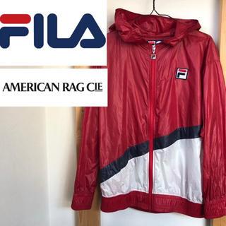 アメリカンラグシー(AMERICAN RAG CIE)のFILA   AMERICAN RAG CIE コラボ ナイロンジャケット(ナイロンジャケット)