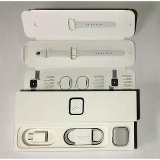 アップルウォッチ(Apple Watch)の美品 Apple Watch Series4 ステンレス シルバー 40mm(腕時計(デジタル))