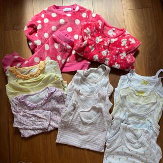 ニシキベビー(Nishiki Baby)の80  ベビー肌着 パジャマ セット 80 90 (肌着/下着)