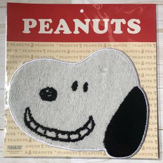ピーナッツ(PEANUTS)の新品•未開封 スヌーピー ダイカット ミニタオル/西川(タオル/バス用品)