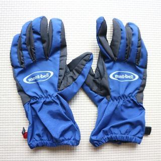 モンベル(mont bell)の美品モンベル/防水サンダーパスグローブ キッズ/手袋(手袋)