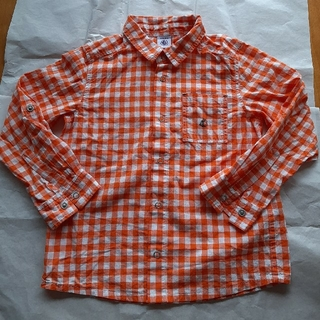 プチバトー(PETIT BATEAU)の子供服 プチバトー シャツ(ブラウス)
