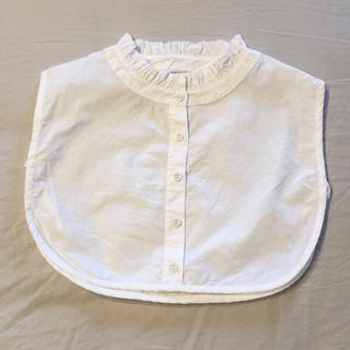 サマンサモスモス(SM2)のつけ襟(ホワイト)(つけ襟)