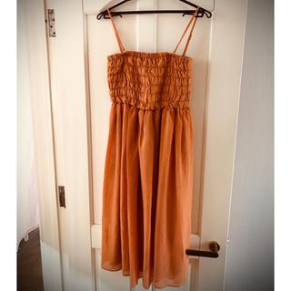 アーバンリサーチ(URBAN RESEARCH)のアーバンリサーチ 秋色ワンピース ドレス(ミディアムドレス)