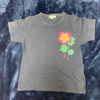 ニッセン(ニッセン)の和柄 半袖Tシャツ 120 紺(Tシャツ/カットソー)