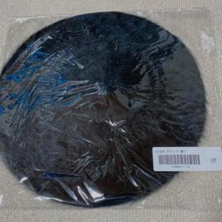グレイル(GRL)のGRL ベレー帽 ブラック 新品(ハンチング/ベレー帽)