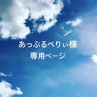 あっぷるべりぃ様専用ページ(ピアス)
