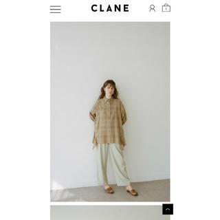 Shel'tter ORIGINAL - CLANEチェックフリルシャツ