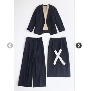 ハコ(haco!)のhaco スカート スーツ ブラック(スーツ)