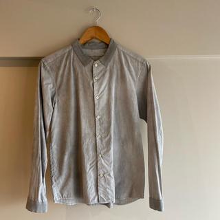 ETHOSENS エトセンス ノーカラーシャツ(シャツ)