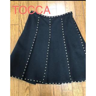 トッカ(TOCCA)のほぼ新品 TOCCA トッカ 膝丈スカート サイズ2(ひざ丈スカート)
