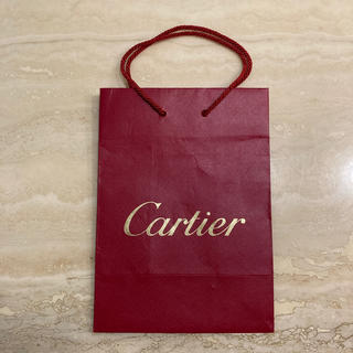 カルティエ(Cartier)のカルティエのショッピング袋です。(ショップ袋)