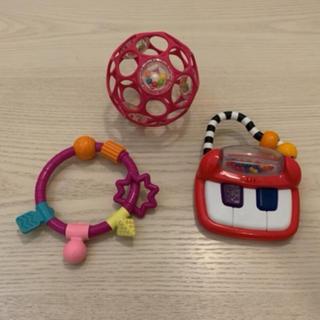 Sassy - オーボール、歯固め、sassy、赤ちゃん、おもちゃ、ピアノ、中古、