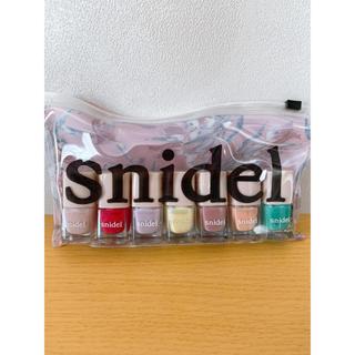 スナイデル(snidel)のsnidel♡ポーチ付きネイルセット(マニキュア)