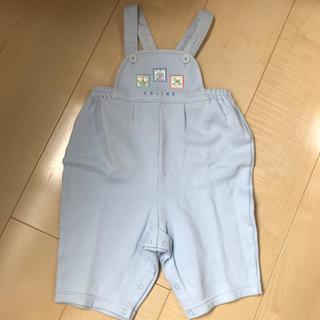 セリーヌ(celine)の1度着用のみ美品 セリーヌ ズボン サロペット パンツ サイズ90(パンツ/スパッツ)