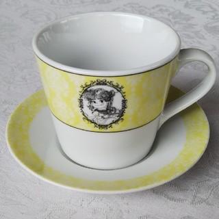 フジヤ(不二家)のペコちゃん ティーカップ(グラス/カップ)