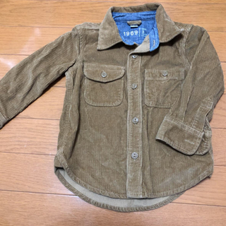 ベビーギャップ(babyGAP)の美品 baby GAP コーディロイシャツ  95(ジャケット/上着)