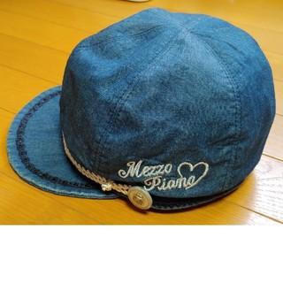 mezzo piano - メゾピアノ キャップ帽